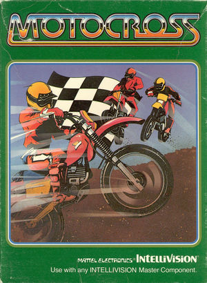 Cover for Motocross.