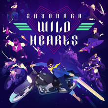 Cover for Sayonara Wild Hearts.