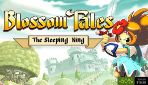 Cover for Blossom Tales: The Sleeping King.