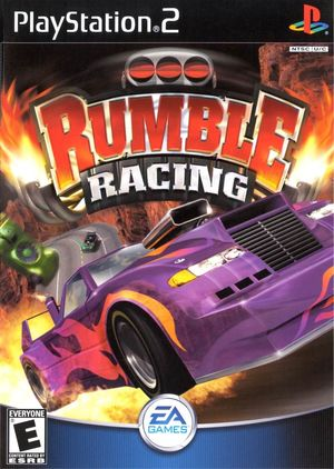 Cover for Rumble Racing.