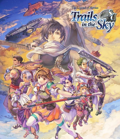 Cover for The Legend of Heroes: Trails in the Sky Second Chapter.