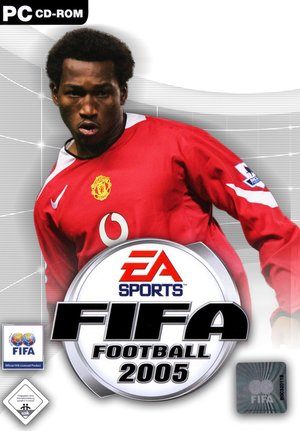 Cover for FIFA Football 2005.