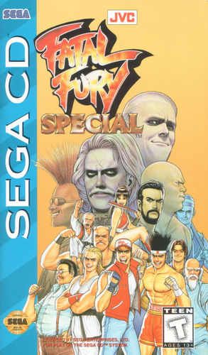 Cover for Fatal Fury Special.