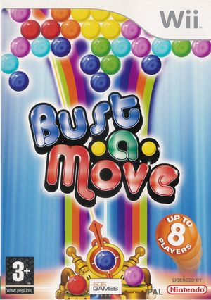 Cover for Bust-A-Move Bash!.