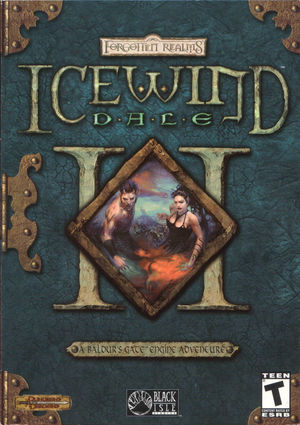 Cover for Icewind Dale II.