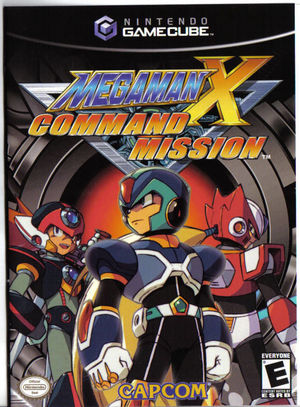 Cover for Mega Man X: Command Mission.