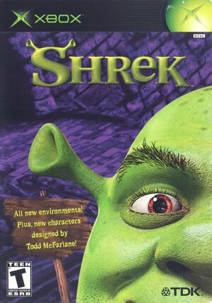 Cover for Shrek.