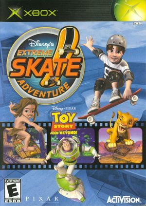 Cover for Disney's Extreme Skate Adventure.