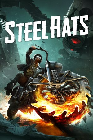 Cover for Steel Rats.