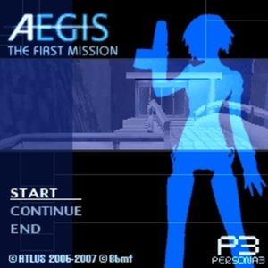 Cover for Aegis THE FIRST MISSION.