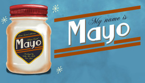 Cover for My Name is Mayo.