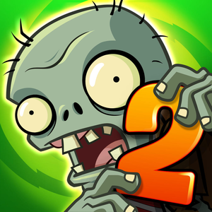 Cover for Plants vs. Zombies 2.
