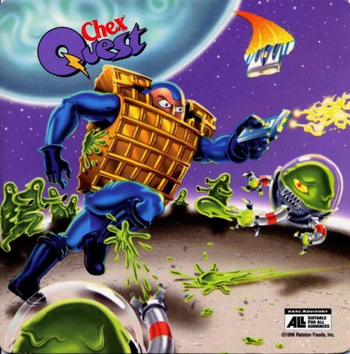 Cover for Chex Quest.