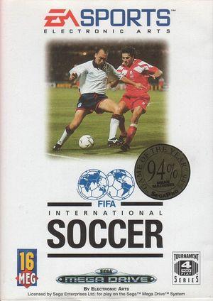 Cover for FIFA International Soccer.