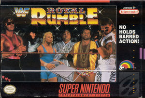 Cover for WWF Royal Rumble.
