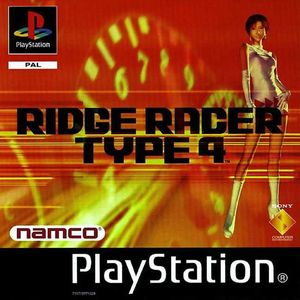 Cover for R4: Ridge Racer Type 4.