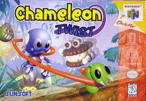 Cover for Chameleon Twist.