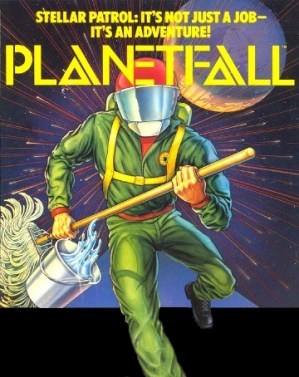 Cover for Planetfall.