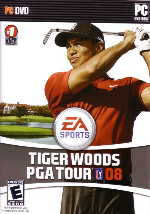Cover for Tiger Woods PGA Tour 08.