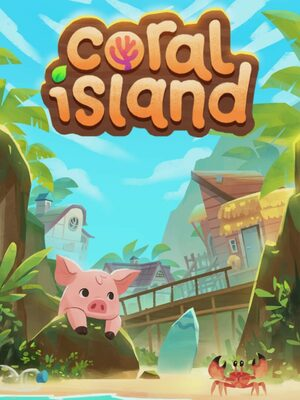 Cover for Coral Island.