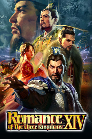 Cover for Romance of the Three Kingdoms XIV.