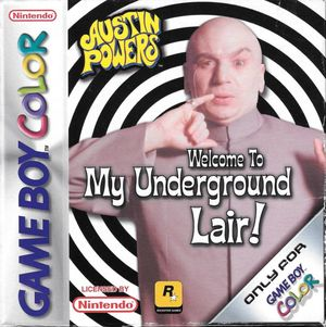 Cover for Austin Powers: Welcome to My Underground Lair!.