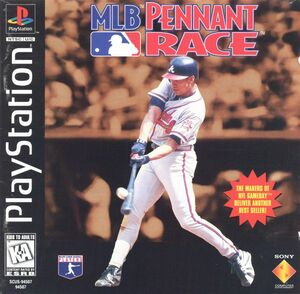 Cover for MLB Pennant Race.