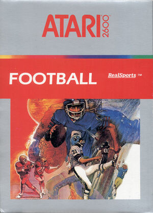 Cover for Realsports Football.