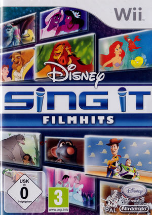 Cover for Disney Sing It: Family Hits.