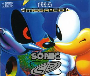 Cover for Sonic CD.