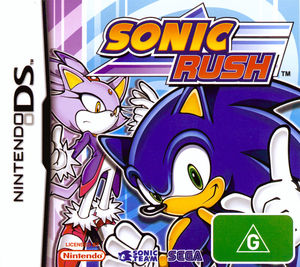 Cover for Sonic Rush.