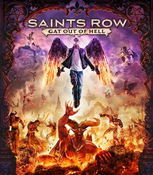 Cover for Saints Row: Gat out of Hell.