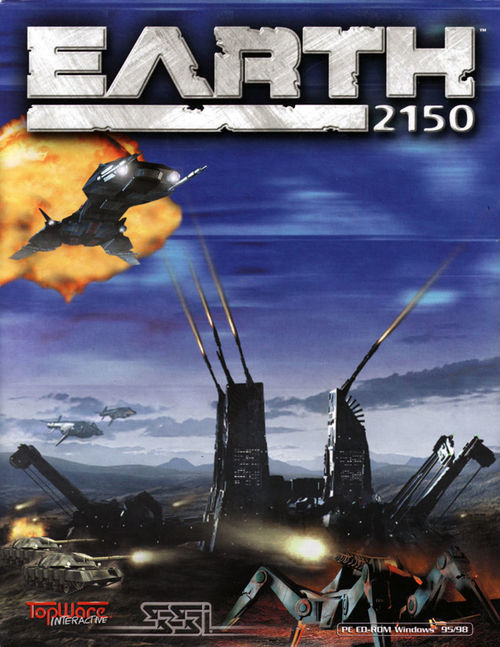 Cover for Earth 2150.