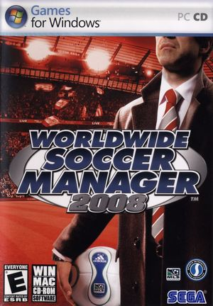 Cover for Football Manager 2008.