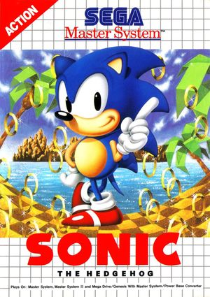Cover for Sonic the Hedgehog.