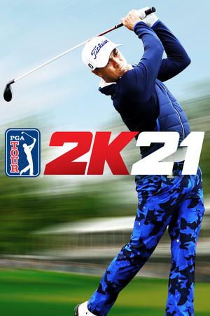 Cover for PGA Tour 2K21.