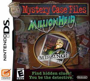 Cover for Mystery Case Files: MillionHeir.