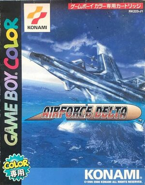 Cover for Airforce Delta.