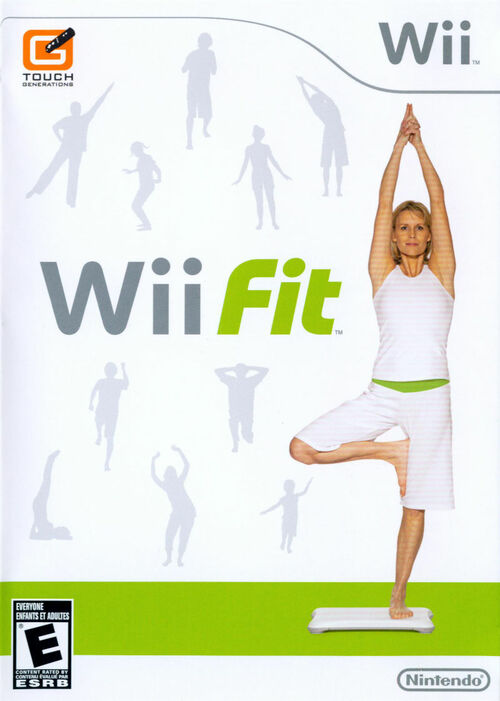 Cover for Wii Fit.
