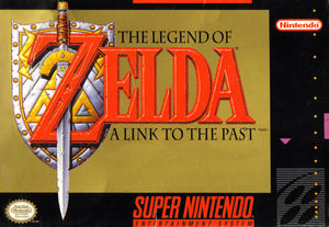 Cover for The Legend of Zelda: A Link to the Past.