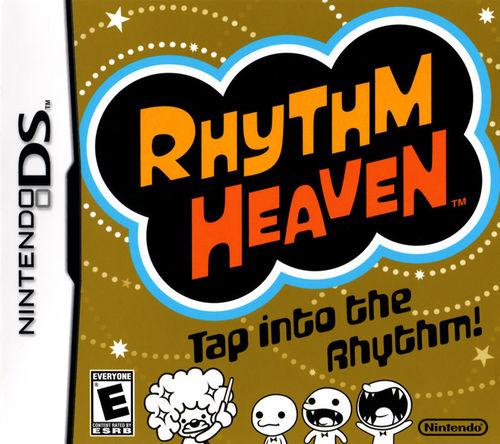 Cover for Rhythm Heaven.