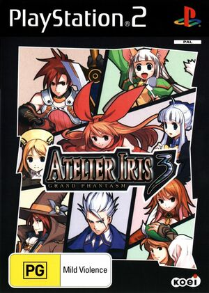 Cover for Atelier Iris 3: Grand Phantasm.
