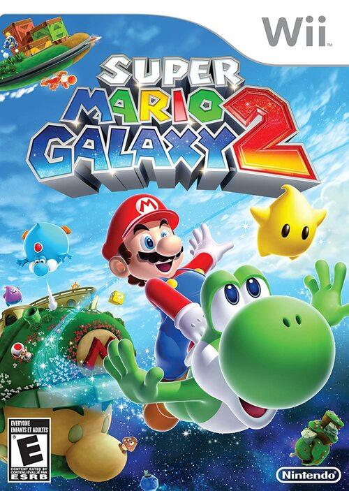 Cover for Super Mario Galaxy 2.