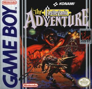 Cover for Castlevania: The Adventure.