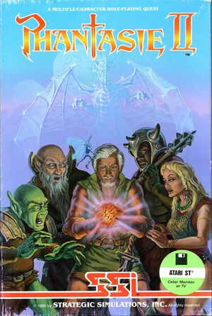 Cover for Phantasie II.
