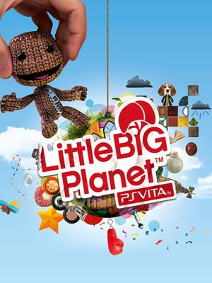 Cover for LittleBigPlanet PS Vita.