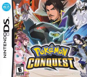 Cover for Pokémon Conquest.