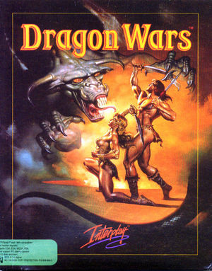 Cover for Dragon Wars.