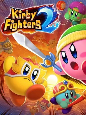 Cover for Kirby Fighters 2.