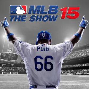 Cover for MLB 15: The Show.